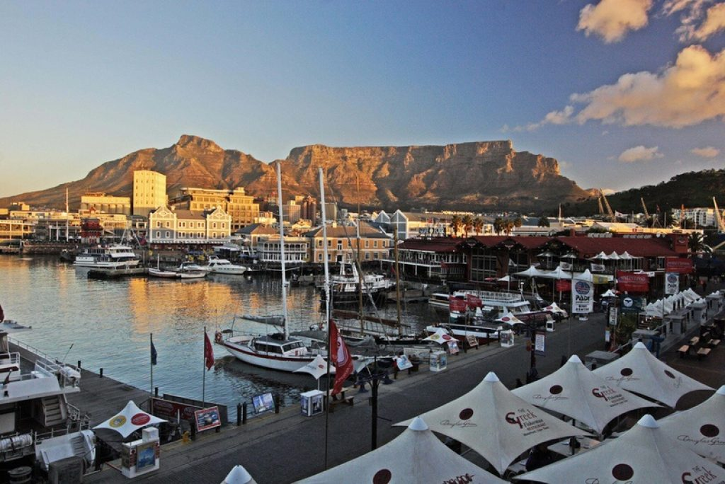 harbour-cape-town-sunset
