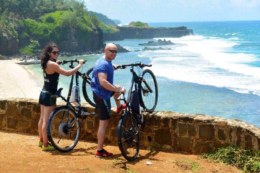 bicycle tour around Mauritius