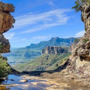 Drakensberg mountain range