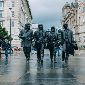 The Beatles statue Liverpool