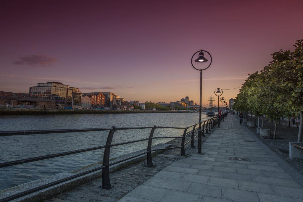 river-liffey-evening