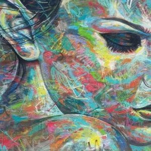 Wynwood Walls colorful face