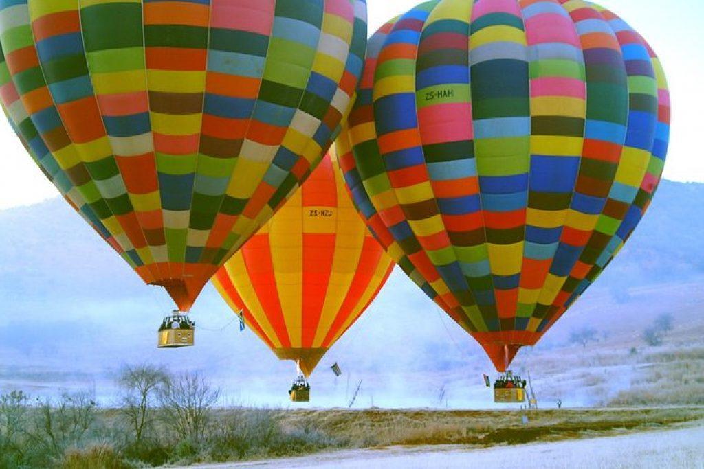 Balloon safari magaliesberg