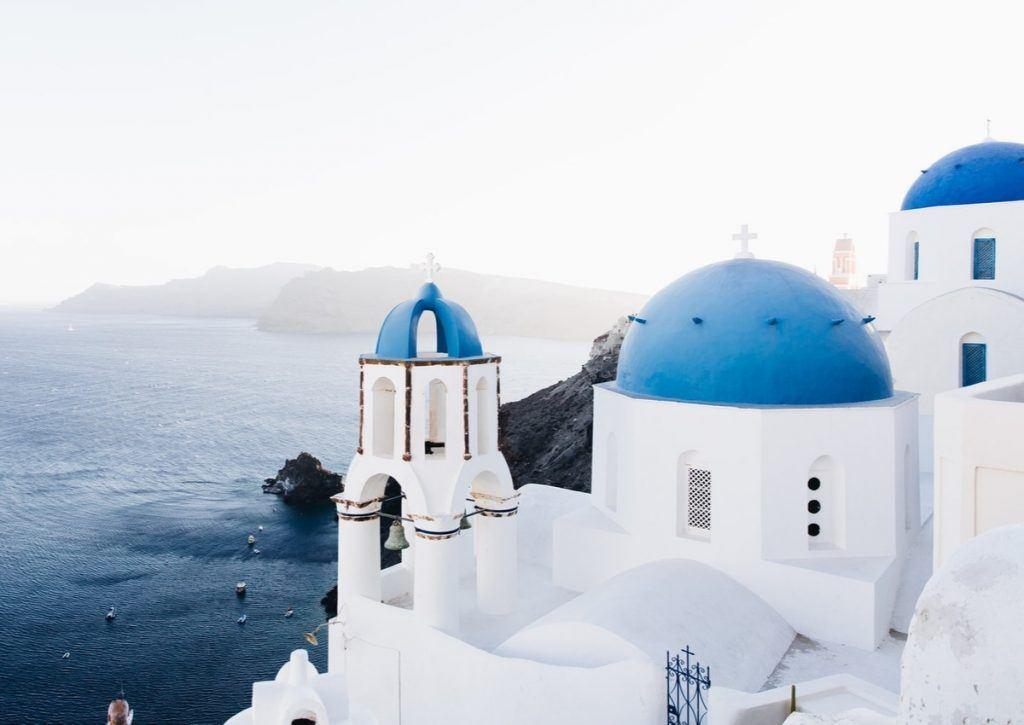 white-greece-house